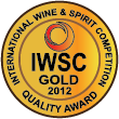 Oceněno International Wine & Spirits Comp. 2012 / Oro