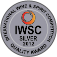 Oceněno International Wine & Spirits Comp. 2012 / Silver