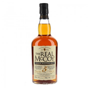 The Real McCoy aged 5 years Distiller's Proof 46%