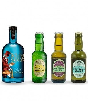 The King of Soho Gin Tonic set M