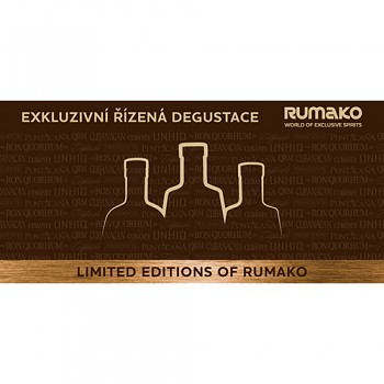 Degustácia Limited Editions Of RUMAKO