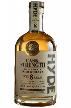 Hyde Whiskey Single Grain Irish 59% alc. 0,7l