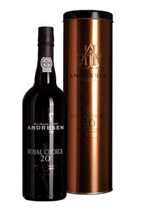J.H. Andresen Royal Choice 20 Year Old Port