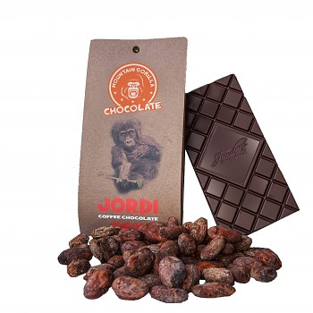 Čokoláda Joridi 66 % coffee chocolate 50 g