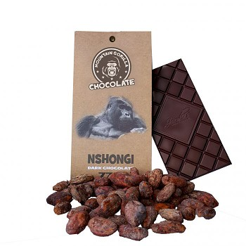 Čokoláda Nshongi 77 % dark chocolate 50 g